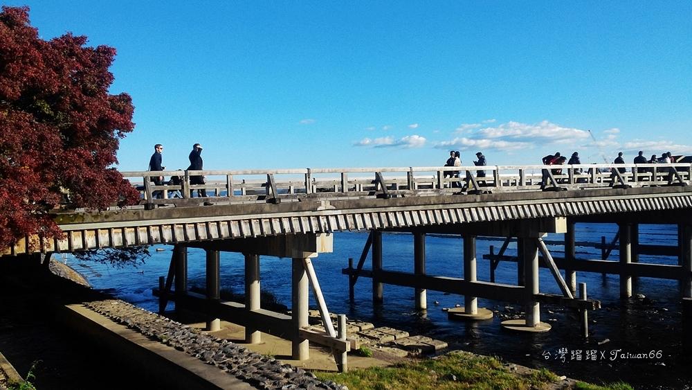 嵐山-渡月橋,渡月橋