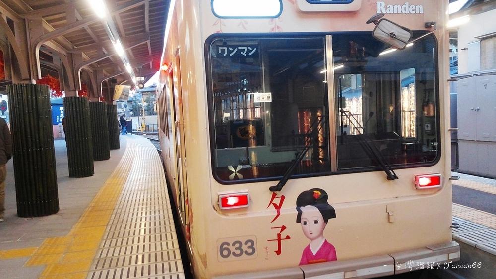 嵐山,嵐電,京福電鐵