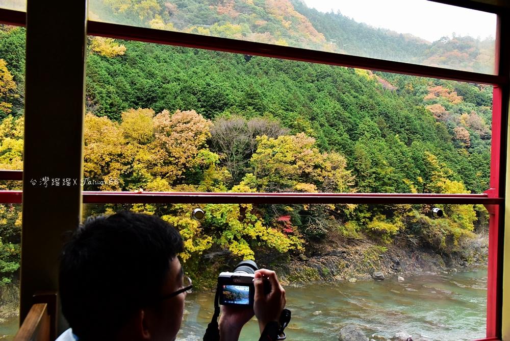 嵐山 嵯峨野小火車 沿途美景