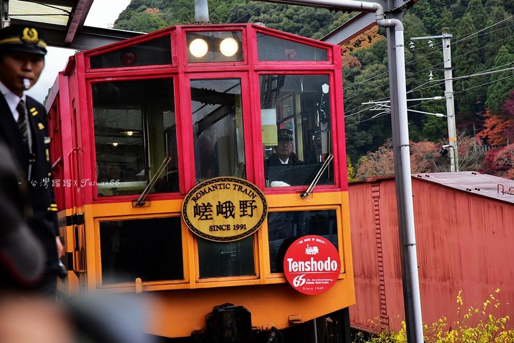 嵐山 嵯峨野小火車