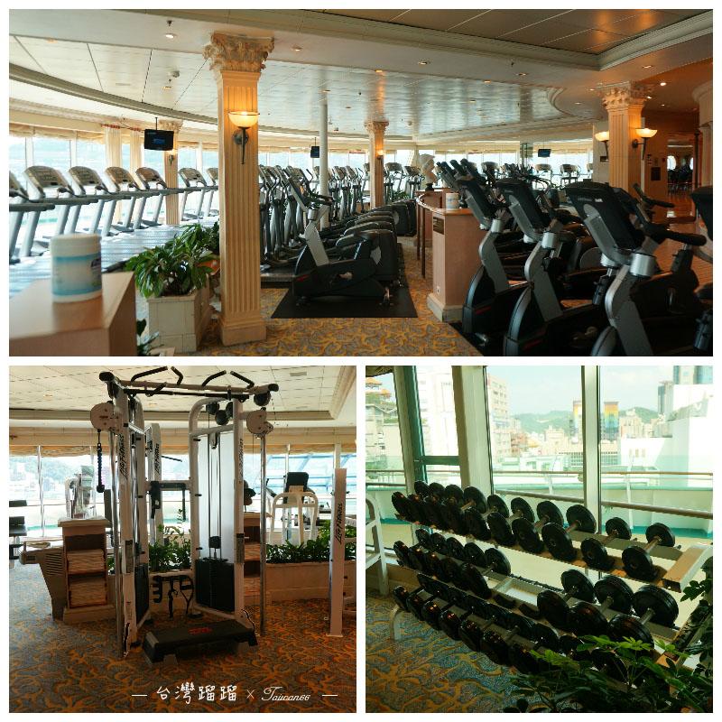 海洋航行者號-健身房