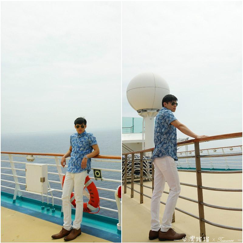 海洋航行者號甲板